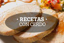 Recetas con Cerdo / Deliciosas recetas con carne de cerdo RYC