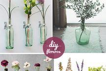 Floreros / Nuevos y reciclados