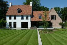 Murhus og fasade