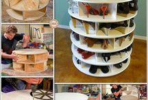 madeira - móveis e reciclados