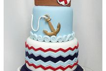 Nautical Bday Cake