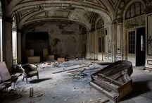 verlaten plaatsen