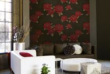 Interior decorating with wallpaper / Tips and advice for decorating your home with wallpaper
