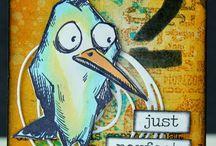 Tim Holtz Crazy Birds / Crazy birds