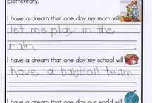 MLK day in 2nd grade / by Alisha Haresnape