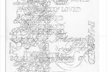 lettering / by Hanah Ho