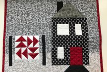 Quilter's Day Laundry :: Houses!