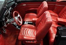 Automotive Installations / Installation photos in the automotive industry that feature Garrett Leather.