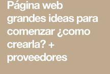 Tu Página Web ¿como empezar las grandes ideas?