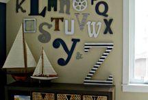 Toddler bedroom / Nautical