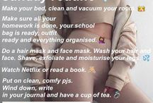 routine /girls stuff