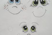 occhi bambole