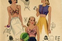 Old Beautiful Sewing  Pattern