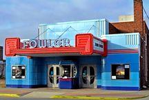 Fowler Theater in Fowler, Indiana