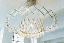 Unique chandeliers / Inspiration, design, graphic design, vintage design
