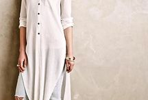 Contemporary Indian outfit