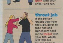 learning fighting skills