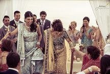 Santorini Hindu Wedding Ceremony