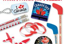 Proud to be a Canadian, Eh! / Patriotic prizes for Victoria Day and Canada Day.