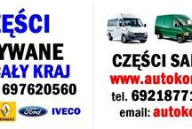 auto parts - Części samochodowe / Od roku 2007 nasza firma specjalizuje się w sprzedaży nowych i używanych części samochodowych oryginalnych i zamiennych do samochodów marek :  FIAT CITROEN PEUGEOT MERCEDES VOLKSWAGEN RENAULT OPEL NISSAN FORD IVECO Naszymi klientami są hurtownie, sklepy, warsztaty, firmy transportowe oraz klienci indywidualni.  GSM +48 692187715 GSM +48 697620560  E-MAIL: autokomis@spoko.pl  www.autokomis.otwarte24.pl www.car.freecart.pl