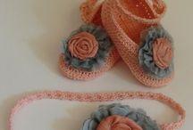 crochet / set crosetat pt fetite