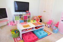 Boys Homework Room Ideas / by Kimberly Bolinger
