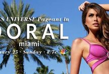 The 63rd Annual Miss Universe Pageant in Doral- Miami / Beautiful ladies, beautiful talent, beautiful city. The 63 Annual Miss Universe Pageant will be hosted in Doral-Miami at the Trump National Doral Miami!  Tune in this Sunday, January 25th at 8 pm EST to watch the live broadcast on NBC.  Who are you rooting for?  More: http://bit.ly/18bY2oM #MissUniverse #ConfidentlyBeautiful #SoMiami #LoveFL