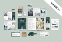 Branding Kit and Stationery InDesign & PSD