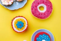 Food & Drink: Knitting & Crochet Patterns / Yummy! Take a look at our favourite knitted and crocheted food and drink items.