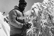 Moncler Heritage / Born in the mountains, lives the city. #moncler #monclerheritage / by Moncler