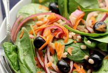 Cinnamon Salads / A wonderful selection of salads that use cinnamon powder