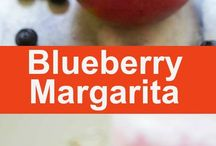 Blueberry margurita