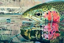 Fish Art / Fine Fish Art has a HUGE collection of fish artwork. Here is just a small sampling! Enjoy.