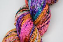 Wee Chickadee Yarn / This wonderful yarn is created by my friend Jennifer and her sister Christina of Wee Chickadee Woolery!