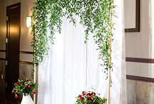 Archways & Floral Backdrops Inspiration