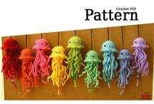 crochet sea animal