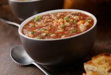 Food - Soups / by Sue Robertson Quinton