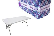 Printed and Branded Table Covers