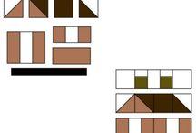 Quilt Houses, Barns, Schools, Churches