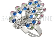 Crystal Rings / Love a crystal ring?Saintchristine supplies well-designed crystal rings; rhinestone rings for women such as pink crystal ring,blue crystal rings,red crystal ring and more. / by saint christine