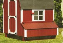 red hen houses