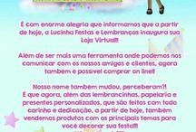 Lucinha festas e lembranças / www.lucinhafestaselembrancas.com.br