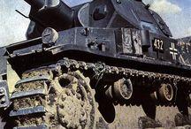 Panzer und Artillerie