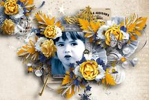 butterflyDsign ct pages / pages de ma CT avec mes kits / by butterflyDsign ingrid