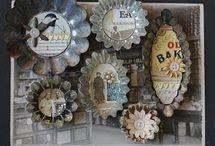Bake tin ornaments