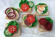 crochet sandwiches