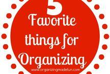 Organization  / by Jessica Knott