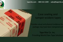 Case Sealing and tamper-evident tapes