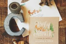 Baby Shower Ideas /  woodland themed