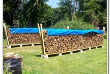 Contenitore per legna da ardere